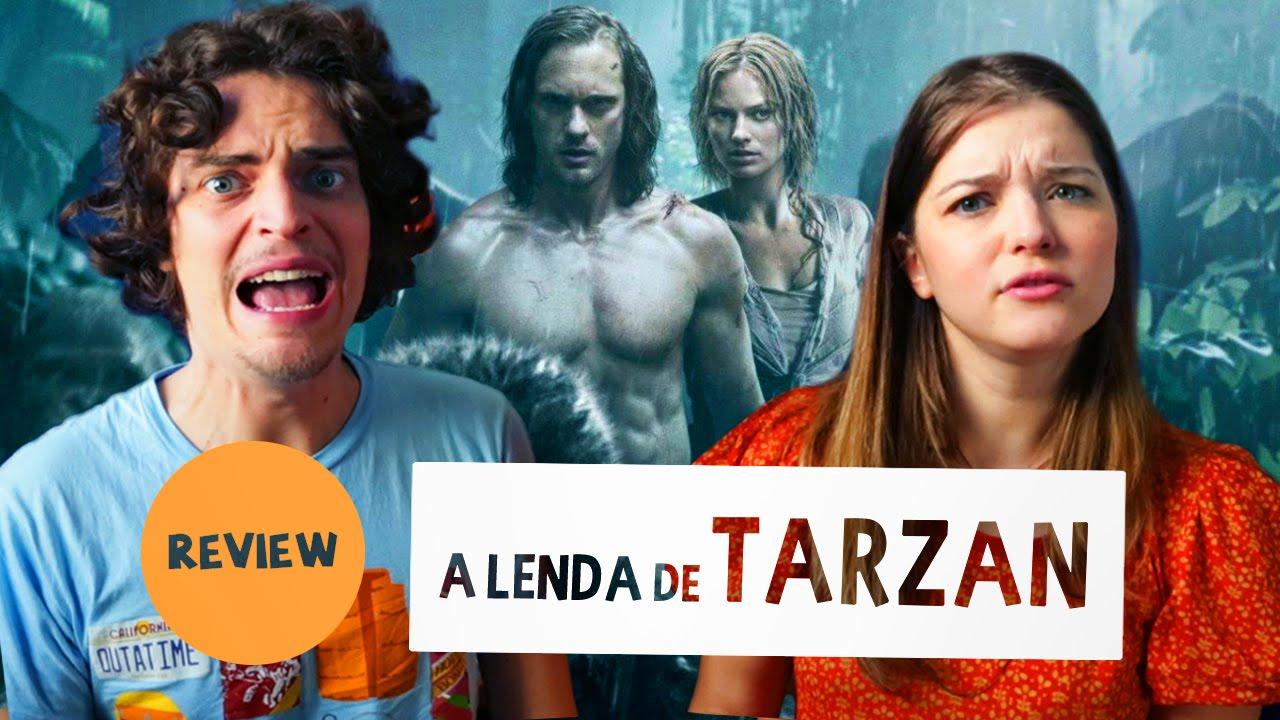 A LENDA DE TARZAN | Crítica SEM SPOILERS | Bryan & Nat