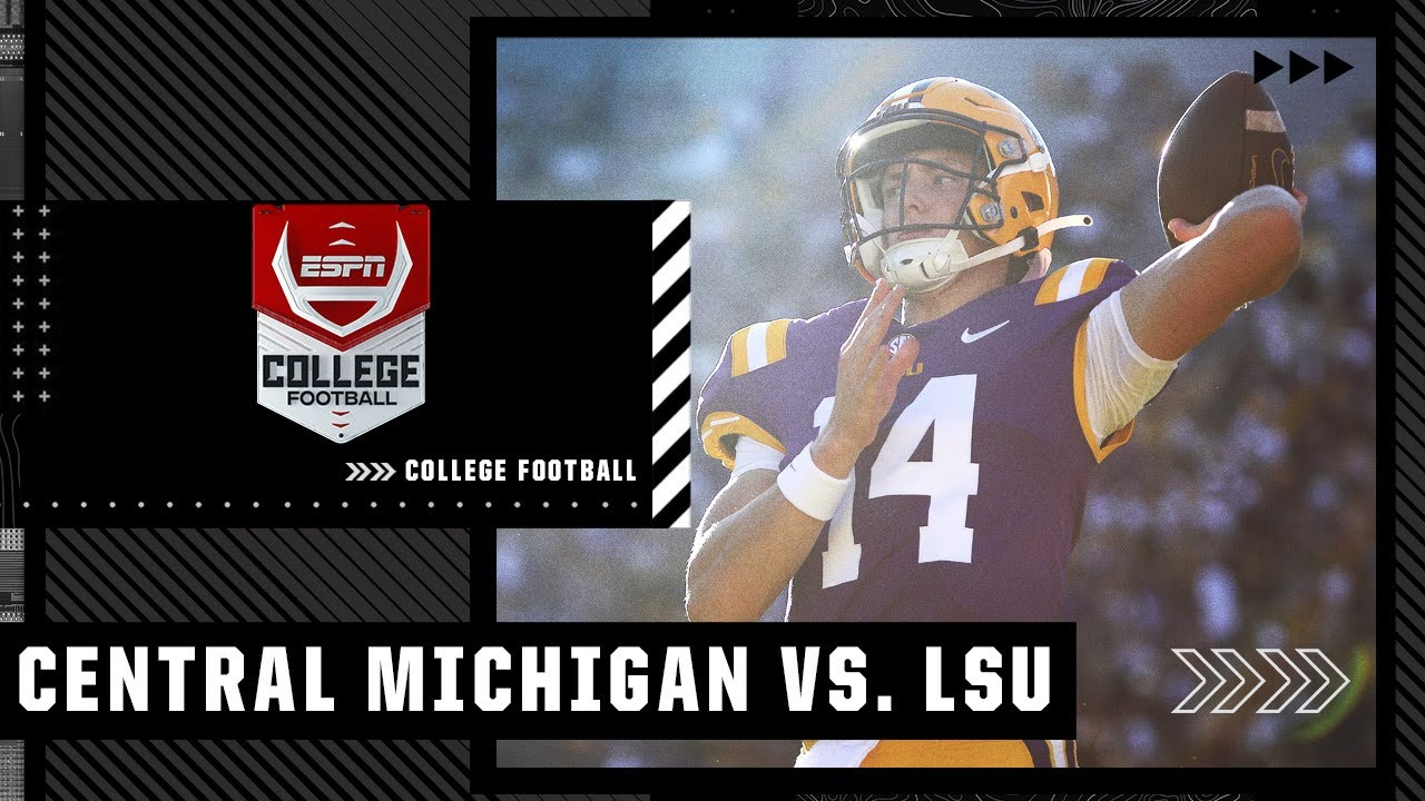 Download Central Michigan Chippewas at LSU Tigers | Full Game Highlights