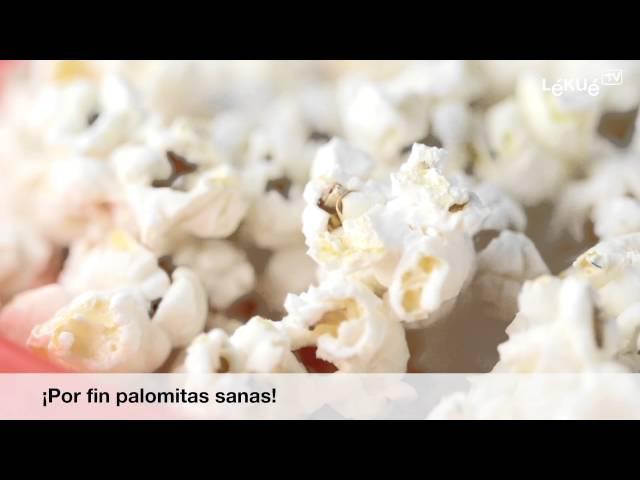 Práctico Molde De Silicón Para Cocinar Palomitas En El Microondas