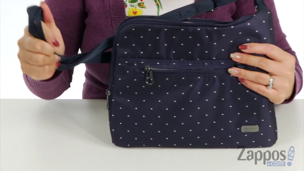 4c23591461 Pacsafe Daysafe Anti-Theft Slim Crossbody Bag SKU  9034213 - YouTube
