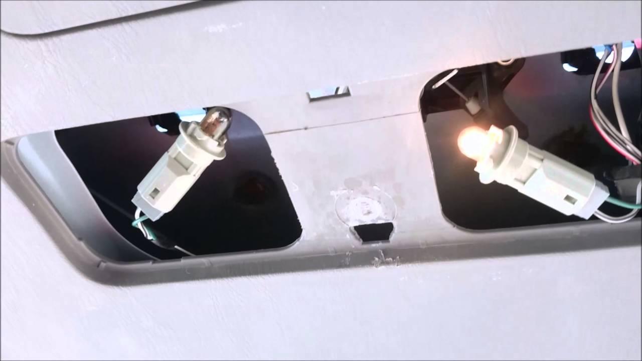Diy Led License Plate Light Swap On 2007 Toyota Matrix