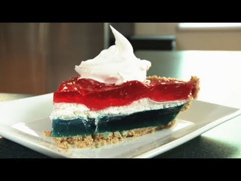 Easy Recipe: Patriotic Pie for the Fourth of July - YouTube