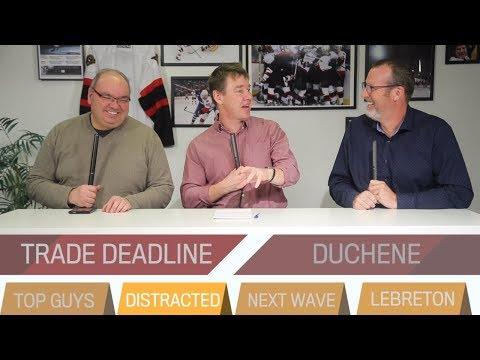 Trade deadline; Next wave; LeBreton mediation  |  THE SENS PANEL, Feb. 4, 2019