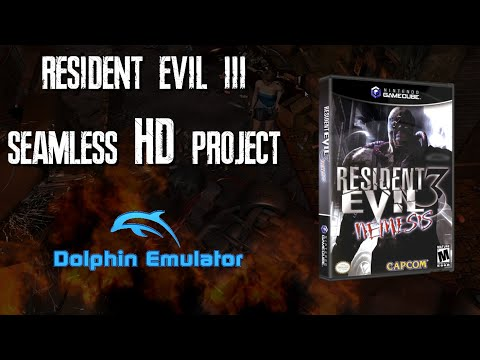 Resident Evil 3 Seamless HD Project  RESHDP (Gamecube/Dolphin)