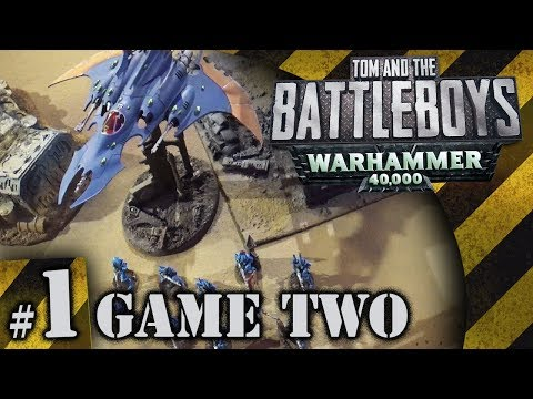 BATTLEBOYS - Warhammer 40K Game Two #1 - The Great Emo Off!