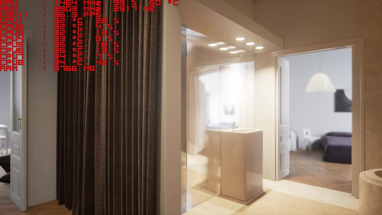 Unreal Engine 4 [4 9] London Apartment By UE4Arch