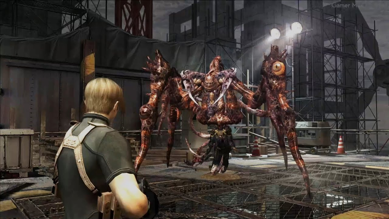 Resident Evil 4 All Boss Fights Ending All Bosses With