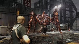 RESIDENT EVIL 4 - All Boss Fights & Ending / All Bosses (With Cutscenes) Professional Difficulty