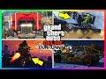 GTA ONLINE GUNRUNNING DLC SECRET DETAILS/HIDDEN FEATURES - BUNKER UPGRADES, NEW VEHICLES & MORE!!