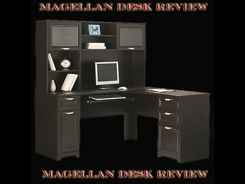 Review on the Magellen Desk with Hutch YouTube
