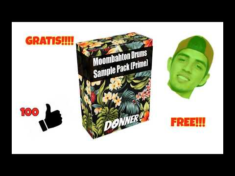 FREE Moombahton Loops & Drums Sample Pack V3 l Go To 1K