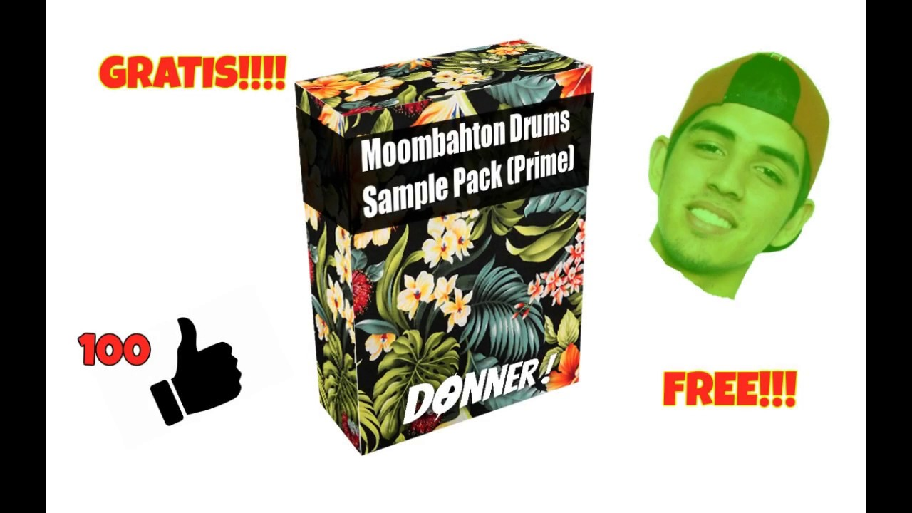 FREE Moombahton Loops & Drums Sample Pack V3 l Go To 1K Subscribers!