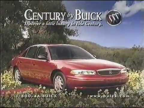 Century By Buick  Television Commercial  1997