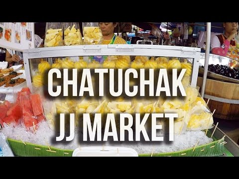 How to go to Chatuchak Weekend Market 🍭🍧🍌🍉👜👗 JJ Market | Must See in Bangkok Thailand | 曼谷