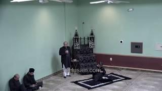 Majlis-e-Aza Muharram 1441 At Idara-e-Jaferia MD USA 10-14-2019 Maulana Absar Naqvi