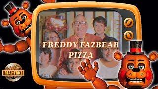 FREDDY FAZBEAR PIZZA AD - real or fake?