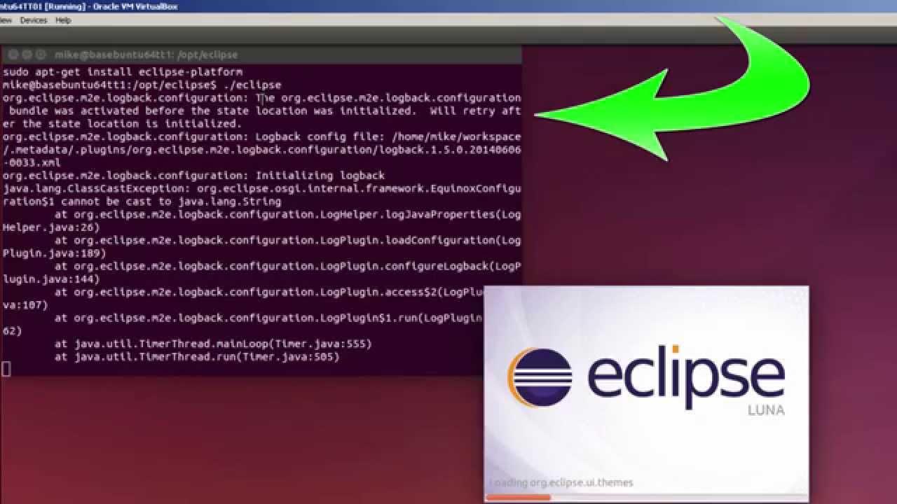 Install Eclipse Luna for Java EE in Ubuntu 14 04