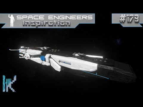 Space Engineers Inspiration - E179: CNL Battleship, Blue Pioneer, & HSY Hades Battleship