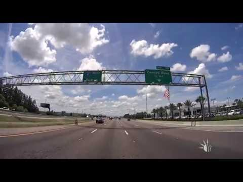 Orlando Florida - I-4 Ultimate Project on 7/23/2016