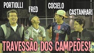 TRAVESSÃO DOS CAMPEÕES!