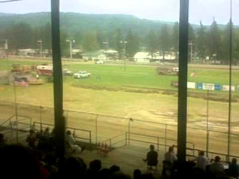 Little Valley Speedway Super Latemodel Heat Race