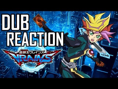 Yu-Gi-Oh! VRAINS | English Dub Reveal & Reaction!