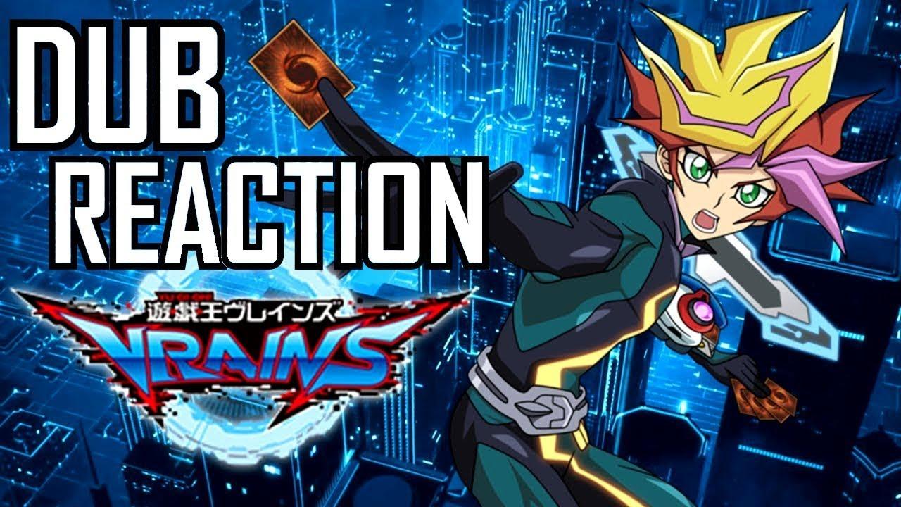 Yu-Gi-Oh! VRAINS   English Dub Reveal & Reaction!