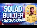 FIFA 19 SQUAD BUILDER SHOWDOWN!!! LIONEL MESSI!!! The Greatest Of All Time?