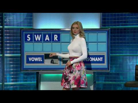Rachel Riley floral knee length flared skirt with tight polo neck top