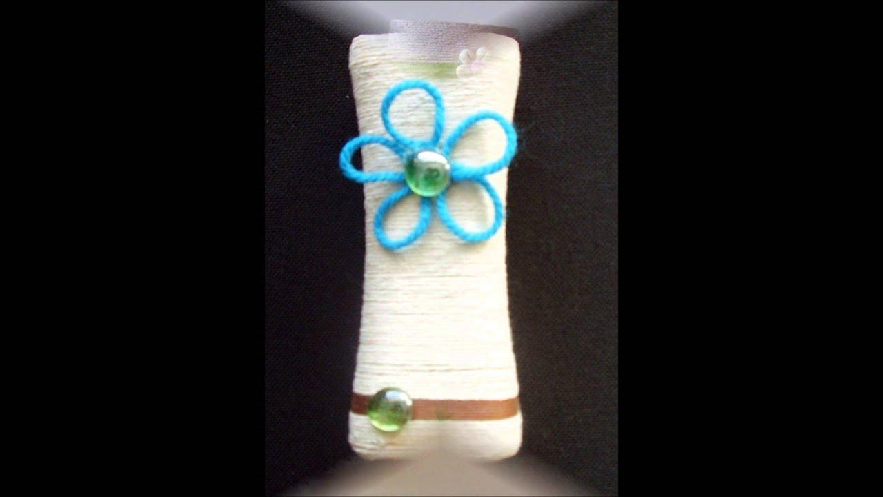 I miei vasi di plastica riciclata youtube for Vasi rettangolari plastica