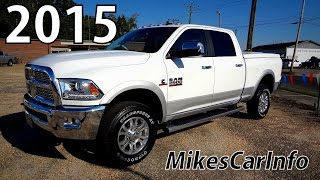 2015 RAM 2500 LARAMIE - Ultimate In-Depth Look
