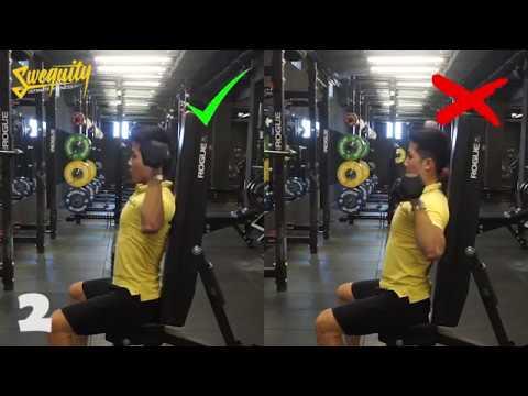 [VA03] Tập vai - Seated Dumbbell Shoulder Press