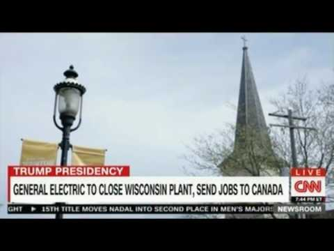 General Electric to close Wisconsin plant sends jobs to Canada Workers blame Paul Ryan