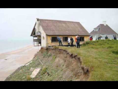 Coastal erosion youtube for How to build a house in florida