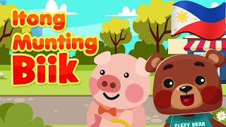 This Little Piggy in Filipino | Philippines Kids Nursery Rhymes & Songs | Awiting Pambata