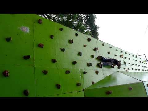 Tyrone's Wall Climbing