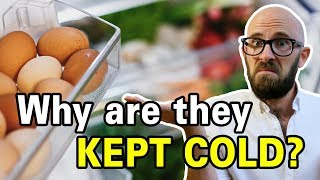 Why Do Americans Refrigerate Their Eggs and Most Other Countries Don't?