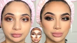 How to Contour & Highlight (liquid & powder)