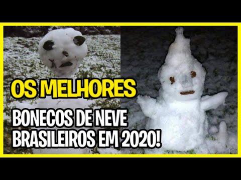 MEMES BONECOS DE NEVE BRASILEIROS EM 2020 - OS MELHORES!