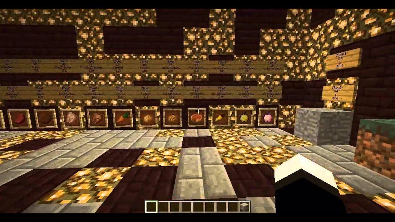Pre made minecraft server shop youtube sciox Images