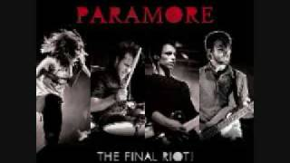 Paramore-CrushCrushCrush (Live At The Final Riot)
