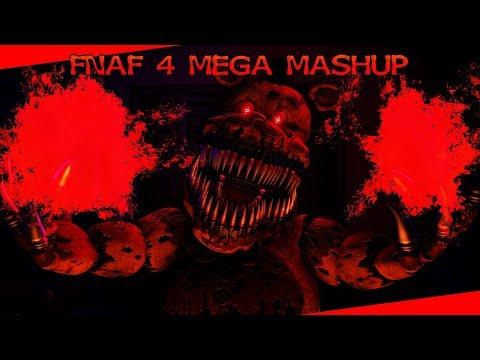 [FNAF] FNAF 4 Mega Mashup   15+ Fanmade FNAF4 Songs