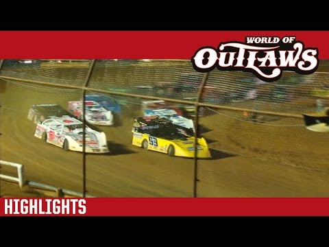 World of Outlaws Craftsman Late Models Tyler County Speedway Park May 29th, 2016 | HIGHLIGHTS