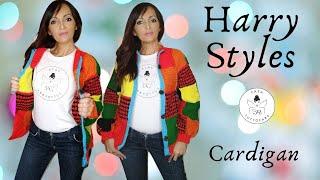 TUTORIAL: Cardigan Harry Styles 🤍lafatatuttofare🤍