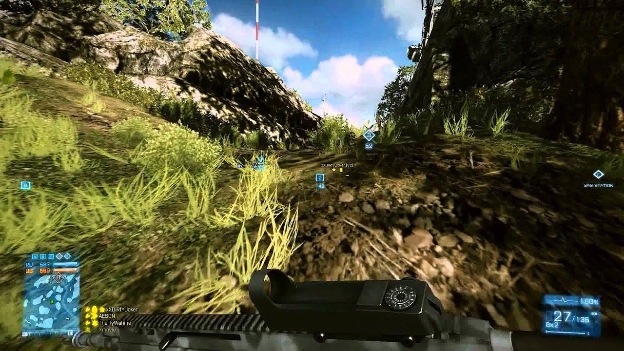 Battlefield 3 on Samsung Series 7 Gamer @ AMD Radeon 7870M - YouTube