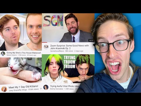 Keith Reviews Every Trending Video On YouTube