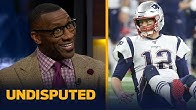 Shannon Sharpe thinks Tom Brady's mediocre play is holding the Patriots back | NFL | UNDISPUTED