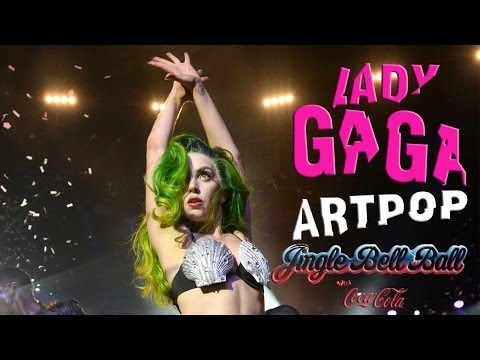 Lady Gaga Jingle Bell Ball 2013 FULL HD