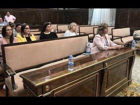 María Victoria Álvarez toma posesión como diputada provincial y Ahora Guadalajara la expulsa