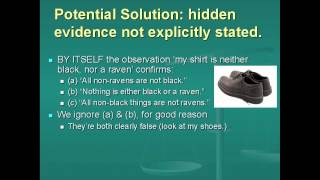 The Hypothetico-Deductive Method and The Ravens Paradox (Lecture 5, Video 2 of 3)